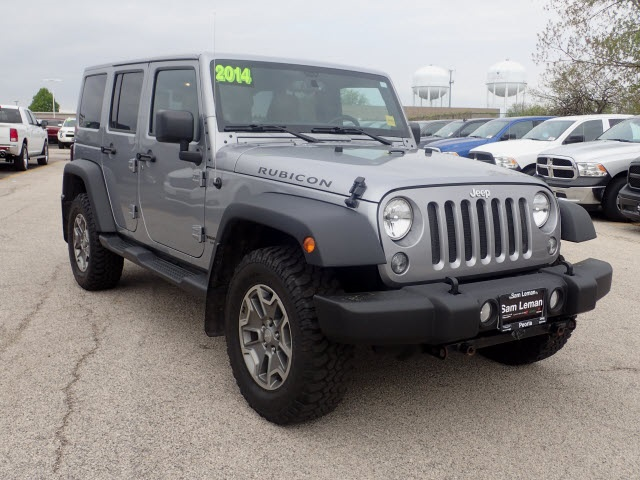 Perfect Pre Owned 2014 Jeep Wrangler Unlimited Rubicon