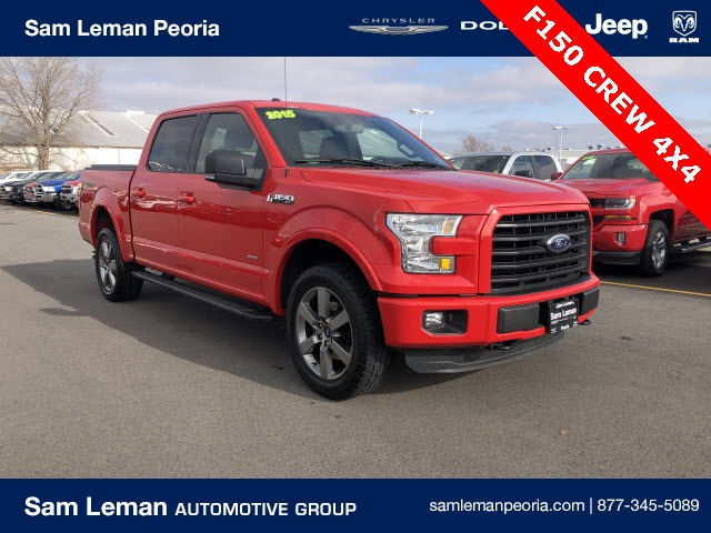 Pre-Owned 2015 Ford F-150 Crew Cab XLT