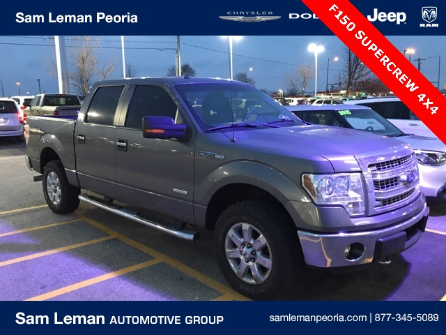 Pre-Owned 2013 Ford F-150 SuperCrew XLT