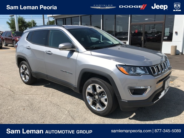 Sam Leman Peoria Il >> Pre Owned 2019 Jeep Compass Limited 4wd