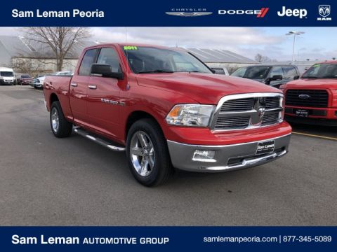 Pre-Owned 2011 Ram 1500 Quad Cab Big Horn
