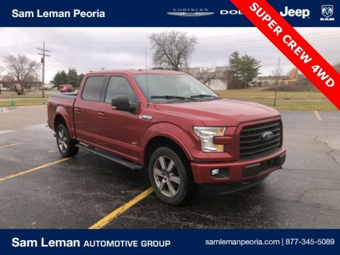 Pre-Owned 2015 Ford F-150 Super Crew XLT
