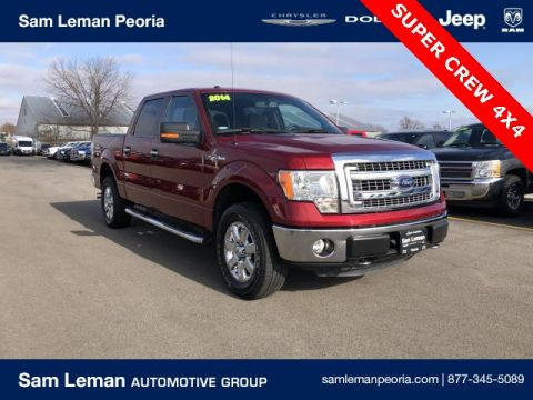 Pre-Owned 2014 Ford F-150 Crew Cab XLT