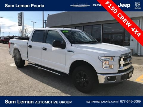 Pre-Owned 2016 Ford F-150 Crew Cab XLT