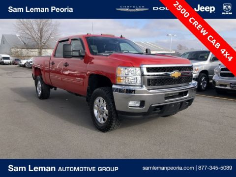 Pre-Owned 2013 Chevrolet Silverado 2500HD Crew Cab LT